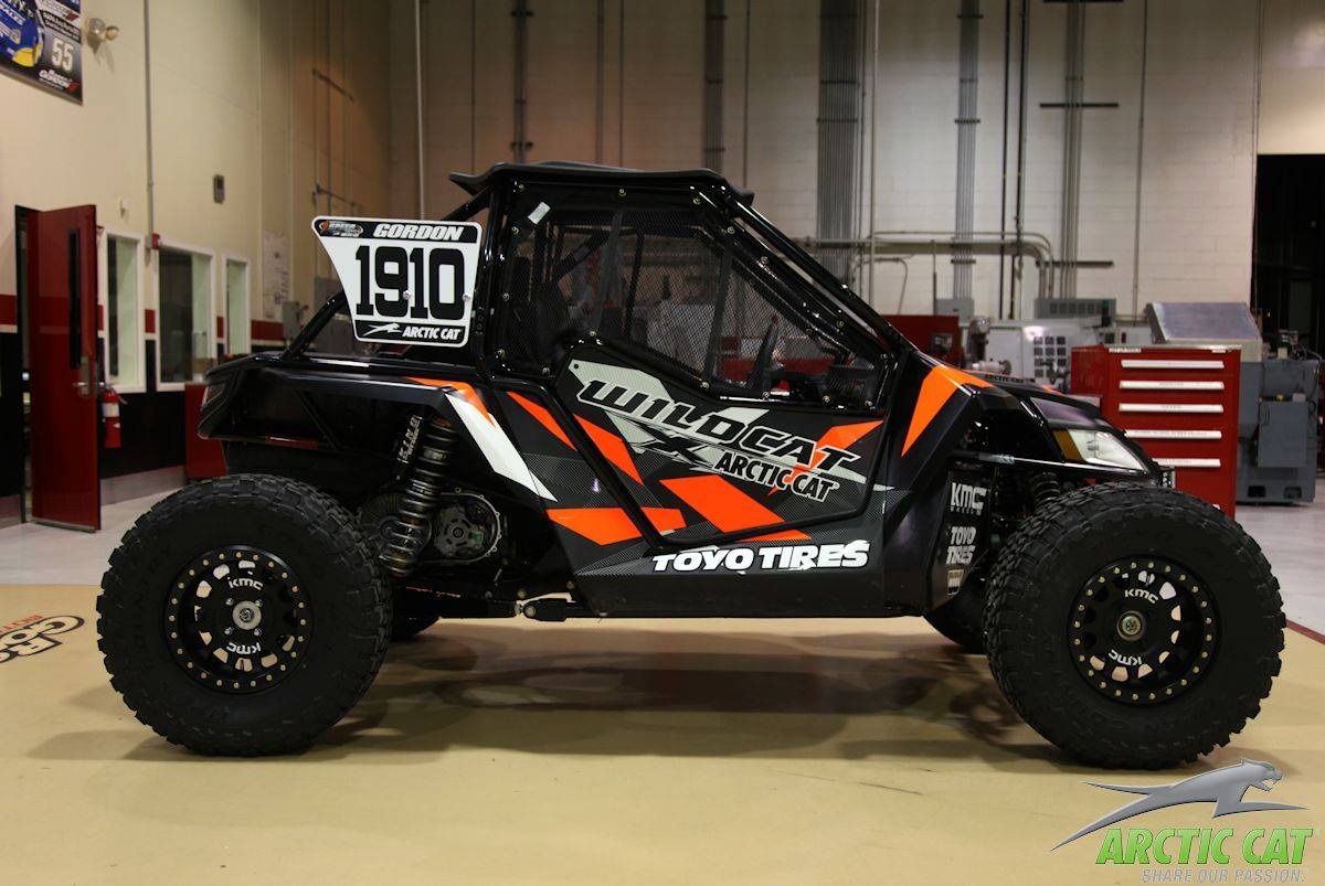 2017 Can Am 1000 >> Here's the Wildcat Robby Gordon will be running at KOH!