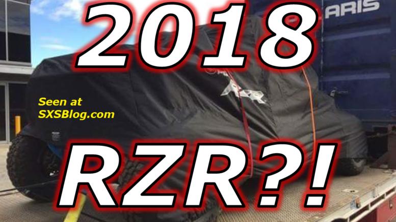 2018 Polaris Rzr Turbo Spy Shot Next Gen Killer