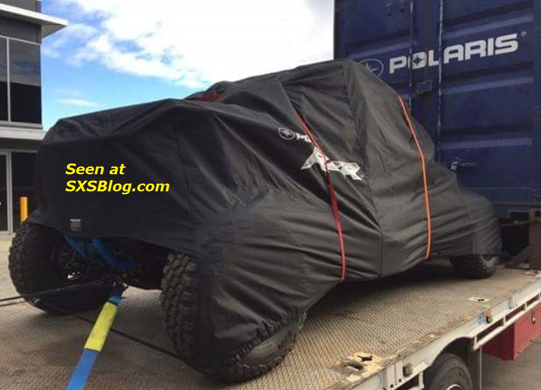 2018 Polaris RZR Turbo spy shot: Next-gen KILLER!