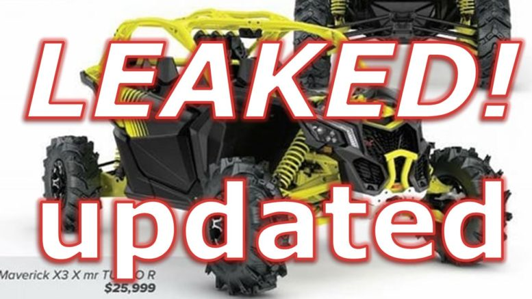 Can Am Maverick X3 XMR and Smart-Lok! LEAKED!! UPDATED!